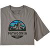 Patagonia M' S FITZ ROY SCOPE ORGANIC T-SHIRT Herr - FEATHER GREY