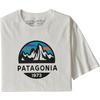 Patagonia M' S FITZ ROY SCOPE ORGANIC T-SHIRT Herr - WHITE