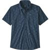 Patagonia M' S GO TO SHIRT Herr - SURFERS: STONE BLUE