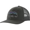 Patagonia FITZ ROY BEAR TRUCKER HAT Unisex - FORGE GREY