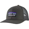 Patagonia P-6 LOGO TRUCKER HAT Unisex - FORGE GREY