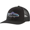 Patagonia FITZ ROY TROUT TRUCKER HAT Unisex - BLACK