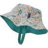 Patagonia BABY SUN BUCKET HAT Barn - BIRDS IN THE LOTUS: PRIMA PINK