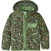Patagonia BABY BAGGIES JACKET Barn - ALLIGATORS AND BULLFROGS: KALE