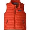Patagonia BABY DOWN SWEATER VEST Barn - HOT EMBER