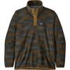 Patagonia M' S MICRO D SNAP-T P/O Herr - NATIVE SEEDS: INDUSTRIAL GREEN