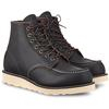 Red Wing CLASSIC MOC 6-INCH Herr - BLACK PRAIRIE LEATHER