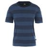 The North Face W S/S STRIPE KNIT TOP Dam - URBAN NAVY BOULDER STRIPE