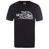 The North Face M S/S WOOD DOME TEE Herr - TNF BLACK