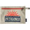 Patagonia ZIPPERED POUCH Unisex - STOP THE RISE: BLEACHED STONE