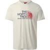 The North Face M S/S RUST 2 TEE Herr - VINTAGE WHITE