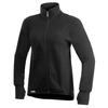 Woolpower FULL ZIP JACKET 400G MED TUMGREPP Unisex - BLACK