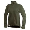 Woolpower FULL ZIP JACKET 400G MED TUMGREPP Unisex - GREEN
