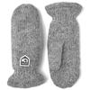 Hestra BASIC WOOL MITT Unisex - GREY