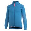 Woolpower KIDS FULL ZIP JACKET 400 - DOLPHIN BLUE