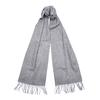 Barbour PLAIN LAMBSWOOL SCARF Unisex - GREY