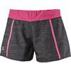 Salomon PARK 2IN1 SHORTS W Dam - BLACK/NIGHTSHADE GREY/HOT PINK
