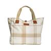 SUMMER DRESS TARTAN TOTE 1