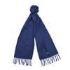 Barbour PLAIN LAMBSWOOL SCARF Unisex - NAVY
