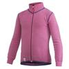 Woolpower KIDS FULL ZIP JACKET 400 - SEA STAR ROSE