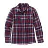 Patagonia W' S L/S FJORD FLANNEL SHIRT Dam - HANDICRAFT OXBLOOD RED