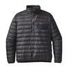 Patagonia M' S DOWN SNAP-T P/O - FORGE GREY