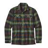 Patagonia M' S L/S FJORD FLANNEL SHIRT Herr - WINDROW: CARBON