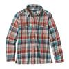 Patagonia W' S L/S FJORD FLANNEL SHIRT Dam - BAY LAUREL: TOASTED WHITE