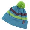 WOMEN FLEECE LINED POM HAT 1