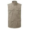 Craghoppers NOSILIFE ADVENTURE GILET Herr - PEBBLE
