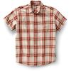 Royal Robbins POINT REYES PLAID S/S Herr - MOROCCO