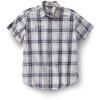 Royal Robbins POINT REYES PLAID S/S Herr - LAGOON