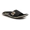 Gumbies ISLANDER SLIDE Unisex - BLACK