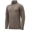 Devold NANSEN SWEATER HIGH NECK Unisex - BRUN / BURGUNDY