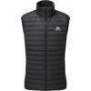 Mountain Equipment EARTHRISE VEST Herr - BLACK