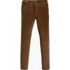 Dockers SMART 360 ALPHA SLIM CORDUROY Herr - TOBACCO