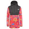 The North Face W PRINTED FANORAK Dam - MR.PNKNWDIMNSNSPRT/TNFBLK