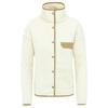 The North Face W CRAGMONT FLEECE JKT Dam - VINTAGE WHITE/KELP TAN