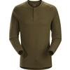 Arc'teryx SIRRUS LS HENLEY MEN'S Unisex - DARK MOSS HEATHER