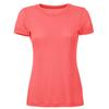 Super Natural W BASE TEE 175 Dam - CORAL ROSE
