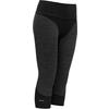 Devold TINDEN SPACER WOMAN 3/4 PANTS Dam - ANTHRACITE