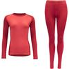 Devold MULTI SPORT SET WOMAN Dam - STRAWBERRY
