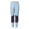 Aclima K WARMWOOL LONGS Barn - ICE BLUE/PURPLE PLUMERIA