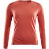 Aclima LIGHTWOOL SPORTS SHIRT WOMAN - BURNT SIENNA / RED OCHRE