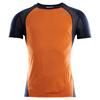 Aclima LIGHTWOOL SPORTS SHIRT MAN Herr - ORANGE POPSICLE / NAVY BLAZER