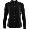 Aclima WOVEN WOOL SHIRT WOMAN Dam - JET BLACK