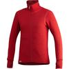 Woolpower FULL ZIP JACKET 400G MED TUMGREPP Unisex - AUTUMN RED