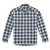 Haglöfs TARN FLANNELL SHIRT MEN - STEEL SKY/DEEP BLUE