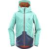 Haglöfs MILA JACKET JUNIOR Barn - CRYSTAL LAKE/TARN BLUE