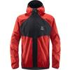 Haglöfs L.I.M PROOF MULTI JACKET MEN Herr - SLATE/POP RED